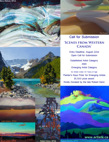 scenes from western canada call for artists
