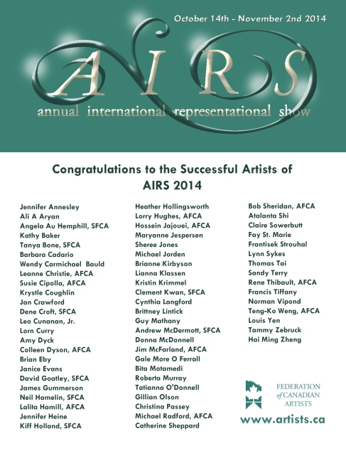 Successful Artists 2014
