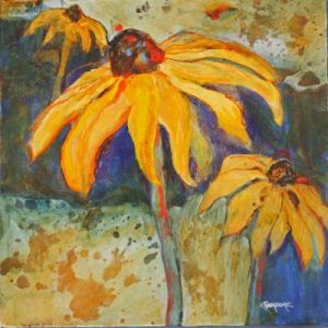 FALL FLOWERS, Elizabeth Moore