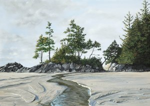 Telosky, Dan - Tonquin Beach and Creek (1)