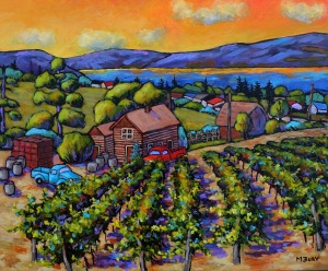 Bury, Marilynn - Summerhill Winery