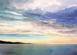 BEGINNING by Enda Bardell, 20x28, Watercolour