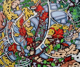 Highlands Paintbruch by Peter Stuhlmann, 20x24, Acrylic