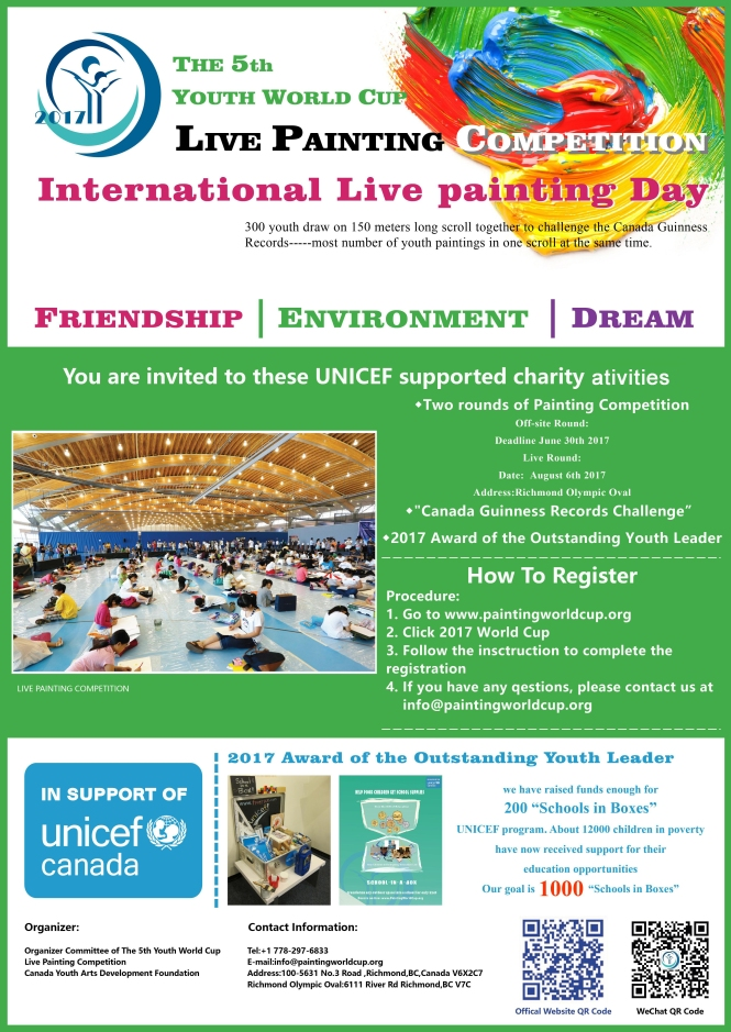 5th Youth World Cup Live Painting Competition