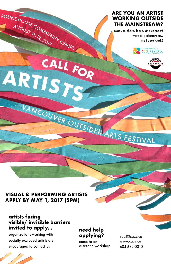 Call for Artists 11x17 _ poster (web)