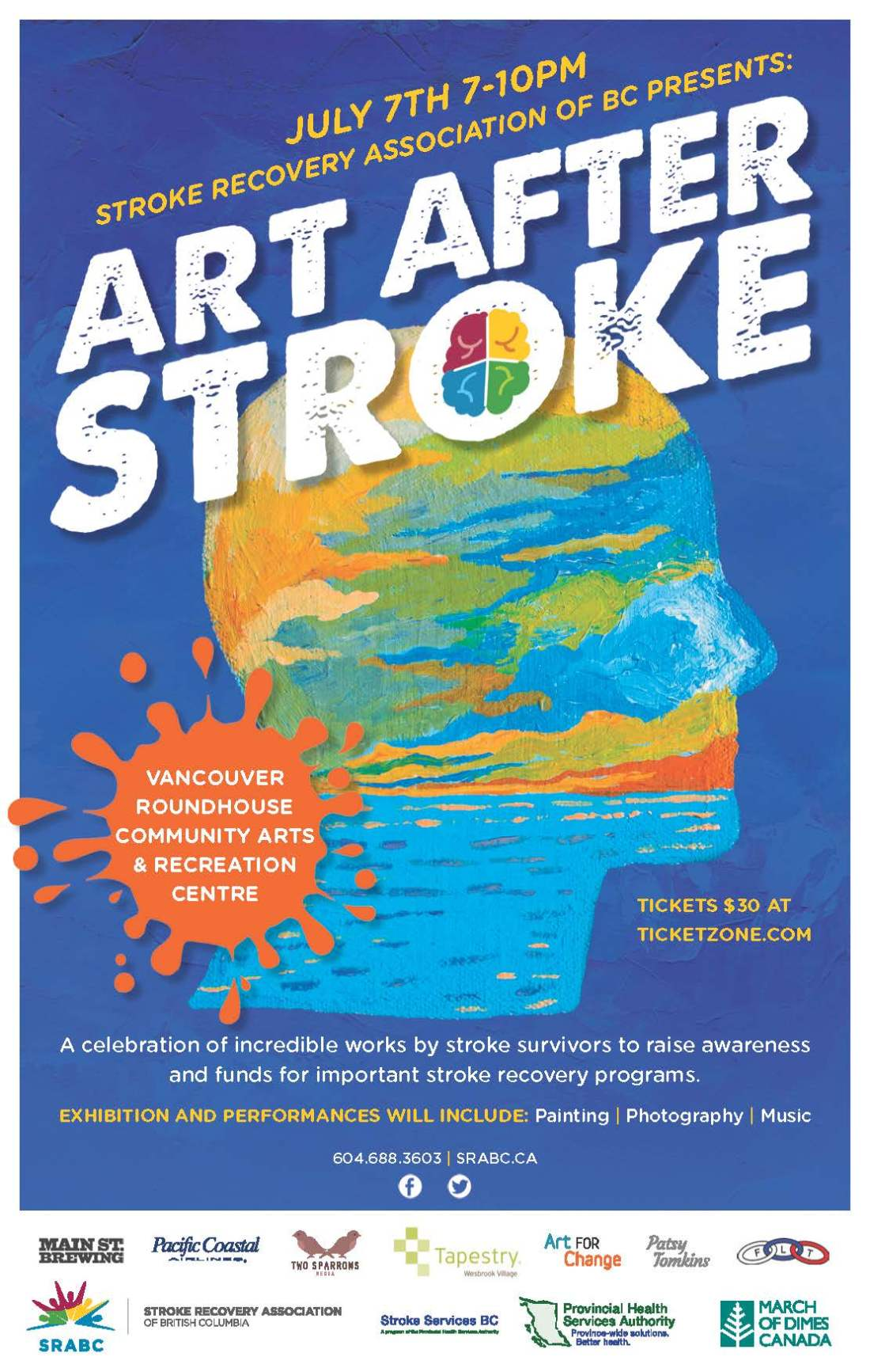Art After Stroke 11x17 Poster-FOR EMAIL