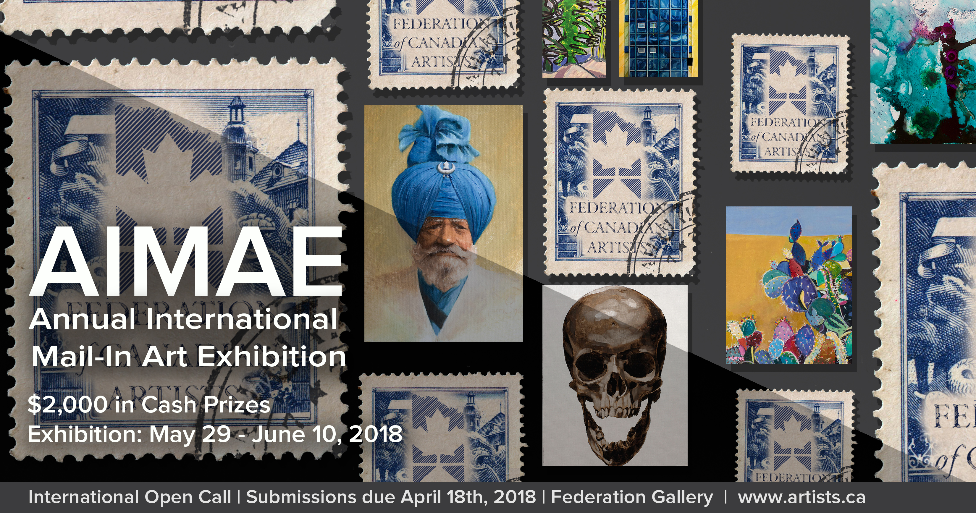 Open Call: Annual International Mail-In Art Exhibition – FCA